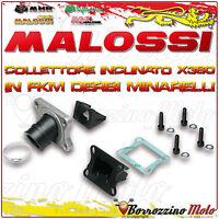 MALOSSI 2013800 COLLETTORE INCLINATO X360 Ø 21 - 24,5 APRILIA RS 50 2T LC AM 6