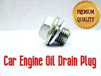 RENAULT ENGINE OIL DRAIN SUMP PLUG BOLT & WASHER CLIP x1