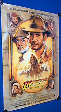 Indiana Jones & the Last Crusade 27x40 Movie Poster Sean Connery Harrision Ford