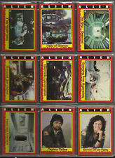 1979 Topps Alien the Movie Complete Base Card and Sticker Set of 84 + 22 NICE!!!