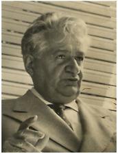 Italie, Avvocato Bruno Cannielli Vintage silver print Tirage argentique  17x