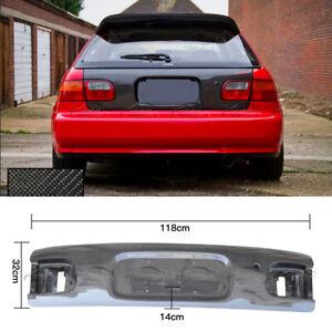 For 1992-1995 Honda EG Civic Carbon Fiber Hatchback Rear Trunk Boot Lid Cover