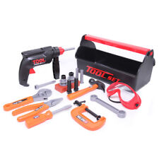 Werkzeugkasten Kinder Werkzeugkoffer mit Werkzeug und Bohrmaschine Spielzeug