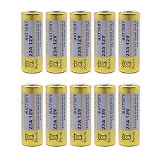 10 pc 23A 12V Alkaline Battery AG23 GP23A Kodak K23A Toy Remote Security Alarm