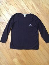 Spa Ojai Women's Purple Long Sleeve Sweater. Great shape. Warm.