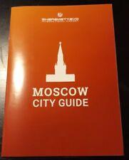 Moskau City Guide Map Stadtplan Metro Fussball Touristen 2018 (englisch)