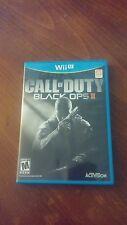 Call of Duty: Black Ops II (Nintendo Wii U, 2012)