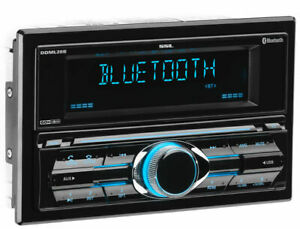 Sound Storm Labs DDML28B Double DIN Bluetooth Mechless Car Stereo Receiver