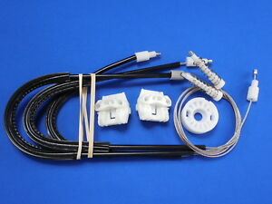 2003-2011 Saab 9-3 Cable Type Right or Left Front Window Regulator (Gen.2)
