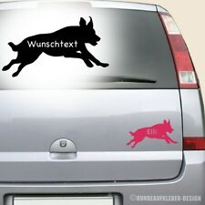 Beauceron Autoaufkleber 10cm inkl. Wunschtext / Hundename Aufkleber Hund 532