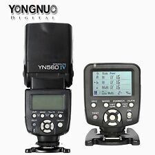 Yongnuo YN560 IV Flash +YN560TX II LCD Wireless Flash Controller Kit For Canon