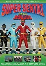 Power Rangers Ninja Sentai Kakuranger The Complete Series R1 DVD
