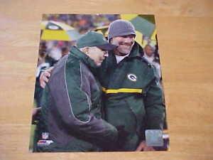 Brett Favre Bart Starr GB Packers LICENSED 8X10 Photo FREE SHIPPING 3/more