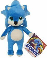 """licenciado Novo com etiquetas macio. as crianças Novo Grande Sonic The Hedgehog 11.5/"""" Azul De Pelúcia Brinquedo"""