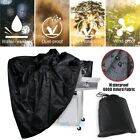 """70"""" Heavy Duty BBQ Grill Cover Gas Barbecue Outdoor Waterproof For Weber Black"""
