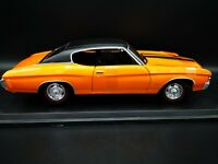 Maisto 1/18 Scale - 1971 Chevrolet Chevelle SS 454 Sport Coupe Diecast Model Car