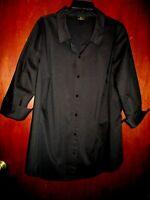 womens black shirt Worthington size 3X