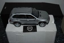 1/18 BMW X5 E53 4.4 SILVER KYOSHO SEE INFO SUPERB!!