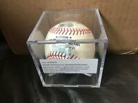 Wilmer DIfo Zach Eflin Foul Bunt 2019 Game Used Baseball Nationals Phillies