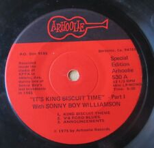 BLUES RADIO BROADCAST EP: IT'S KING BISCUIT TIME WITH SONNY BOY WILLIAMSON