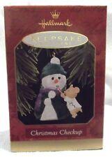 "1997 Hallmark Ornament ""Christmas Checkup"" NEW-NEVER DISPLAYED-MINT"