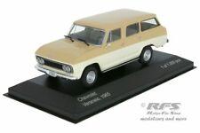 Chevrolet Veraneio - Baujahr 1965 - beige / hellbeige - 1:43 WB094 - Whitebox