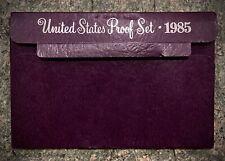 1985 S Proof Set Original Box 5 Coins US Mint