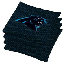 NEW NFL Carolina Panthers Bean Bag Set Regulation Cornhole Bags with Container.