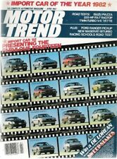 MOTOR TREND 1982 APR - RX-7, TWIN-TURBO VETTE, SUPRA