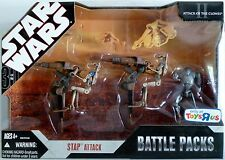 STAP ATTACK Star Wars 30th Battle Packs Figures 3-pack with Vehicles TRU 2008