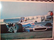fiche cartonnée MATRA SPORT MS 120 / BELTOISE / FORMULE 1 /  1970