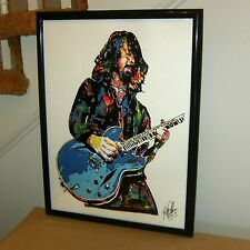 Dave Grohl Foo Fighters Nirvana Everlong Guitar Rock Poster Print Wall Art 18x24