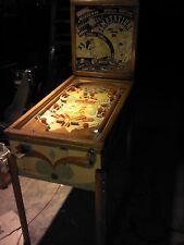 "Old Pinball 1949 Chicago ""Temptation"" Machine-Great Pin Ball Action"