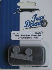 True Details 1/72 TD72036 Weighted Wheels for Curtiss SB2C Helldiver kits