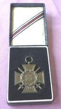 Medallas, hindenburgkreuz en estuche, 1914 - 1918