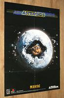 Asteroids (Activision) / Apocalypse very rare Poster 58x81cm