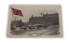 Vtg Market Square St. John New Brunswick Postcard