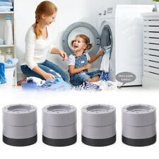 1 Set Shock and Noise Cancelling Washing Machine Support, Anti Slip Vibration