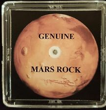 GENUINE MARS METEORITE ROCK - 4mg, With Authentication Certificate - On Sale!