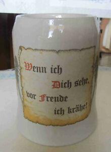 Karaffe, Bierkrug, Weinkrug, Apfelweinkrug, Bembel.