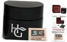 Herb Guard - Quarter Oz Airtight Container & Smell Proof Stash Jar (100ml) Bonus