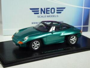 (KI-03-24) Neo Scale Models Porsche Panamericana 1989 in 1:43 in OVP