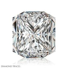 1.51ct H-VS2 Ideal Cut Square Radiant AGI 100% Genuine Diamond 6.79x6.30x3.75mm