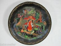 Russian Legends Collection Plate 2 Princess And 7 Bogatyrs Box Cert 1988