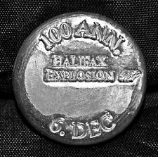 Halifax Explosion 100th Anniversary Commemorative 1 oz. Silver Round