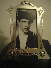 DELIGHTFUL  RARE ORIGINAL ART NOUVEAU ,SECESSIONIST WMF , MARKED PHOTO FRAME