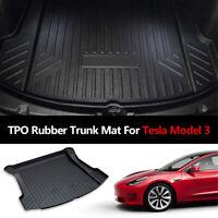 Für Tesla Model 3 Cargo Kofferraummatte hinten /vorne Wasserdichter