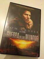 Dvd   LA GUERRA de los MUNDOS CON TOM CRUISE Y UN FILM DE S.SPIELBERG