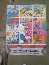 PETER MAX Psychedelic Upstairs Gallery 1970 Poster POP ART