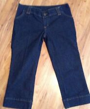 Ladies New Look Maternity Cropped Jeans Vgc Size 8